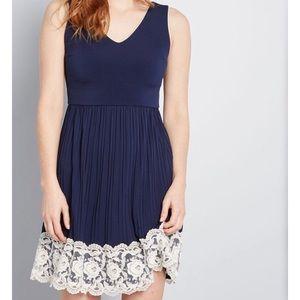 ModCloth Personal Essayist A-Line Dress